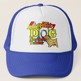 Norfolk_Terrier_Agility Truckerkappe