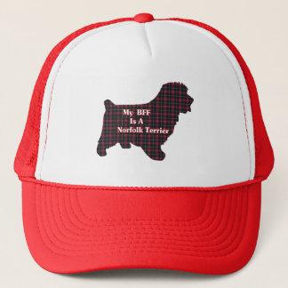 Norfolk-Terrier BESTE FREUNDIN Geschenke Truckerkappe