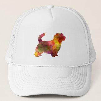 Norfolk Terrier im Watercolor Truckerkappe