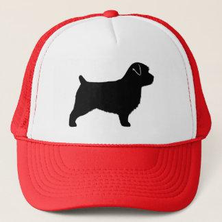 Norfolk-Terrier-Silhouette Truckerkappe