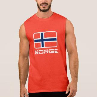 Norge Flagge Kurzarm Shirts