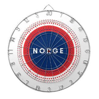 Norge Norwegen Dartscheibe