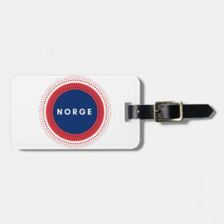 Norge Norwegen Gepäckanhänger