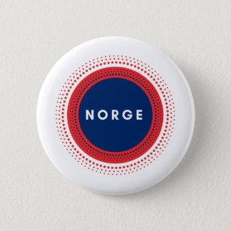 Norge Norwegen Runder Button 5,1 Cm