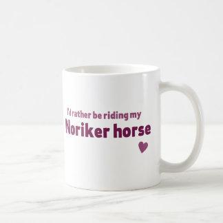 Noriker Pferd Kaffeetasse