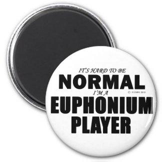 Normaler Euphonium-Spieler Kühlschrankmagnete