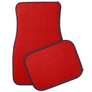 Normallack: Rot Auto Fussmatte