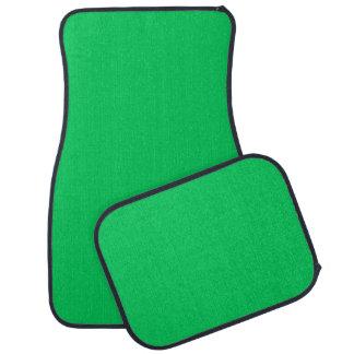 Normallack: Smaragdgrün Auto Fussmatte