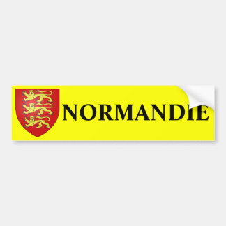 Normandie-Aufkleber Autoaufkleber