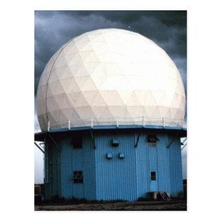 Normanne-Doppler-Radarinstallation Postkarte