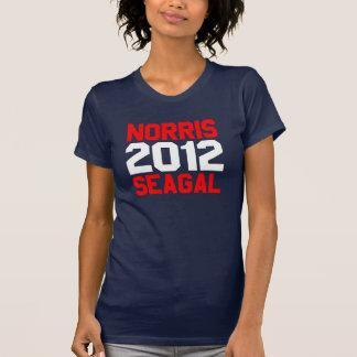 Norris, Seagal, 2012 T Shirt
