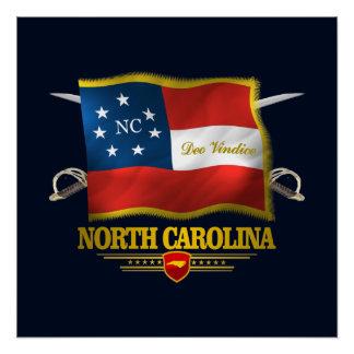 North Carolina - Deo Vindice Poster