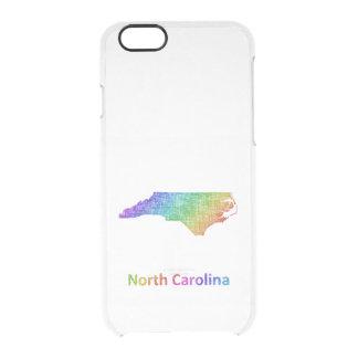 North Carolina Durchsichtige iPhone 6/6S Hülle