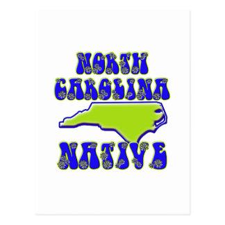 North Carolina-Eingeborener Postkarte
