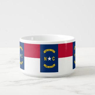 North Carolina-Flagge Kleine Suppentasse