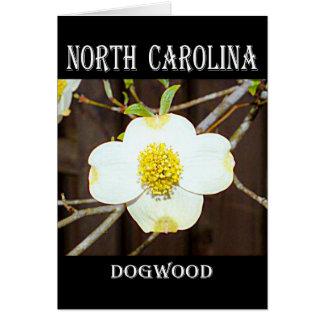 North Carolina-Hartriegel Karte