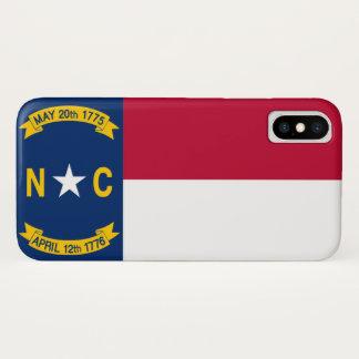 North Carolina iPhone X Hülle