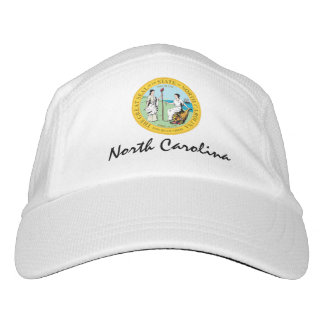 North Carolina personifizieren Headsweats Kappe