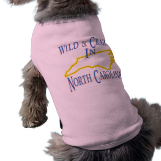North Carolina - wild und verrückt Shirt