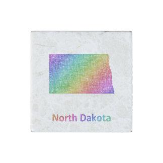 North Dakota Steinmagnet