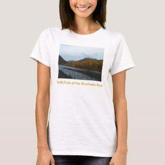 North Fork des Shoshone-Fluss-T - Shirt