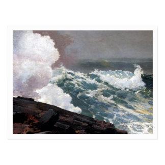 Northeaster durch Winslow Homer Postkarte