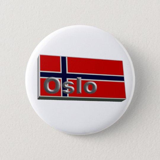 Norwegen 3D+H Runder Button 5,7 Cm
