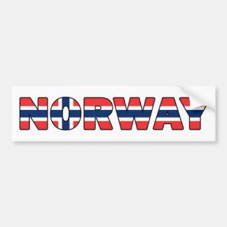 Norwegen Autoaufkleber