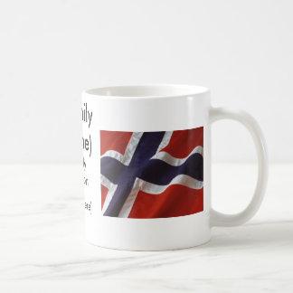 Norwegen-Familien-Wiedersehen Kaffeetasse
