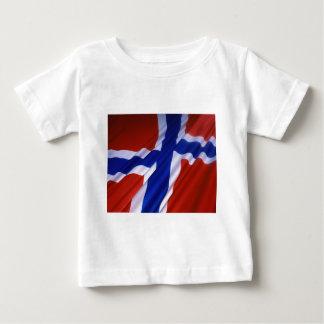 Norwegen-Flagge Baby T-shirt