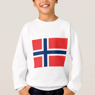 Norwegen-Flagge Sweatshirt