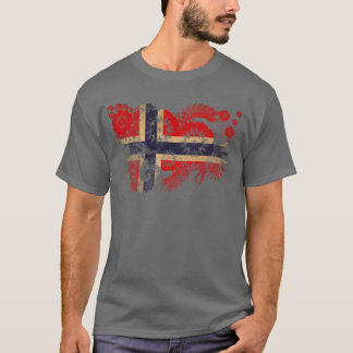 Norwegen-Flagge T-Shirt