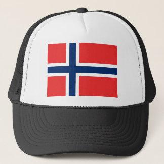 Norwegen-Flagge Truckerkappe