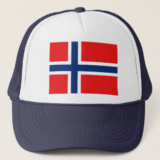 Norwegen-Flaggen-Hut Truckerkappe