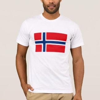 Norwegen-Flaggen-T - Shirt