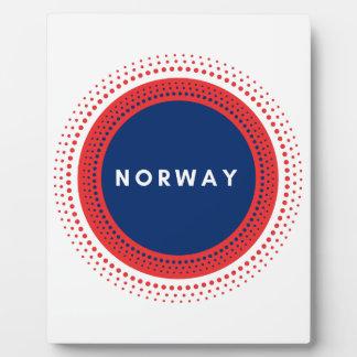 Norwegen Fotoplatte