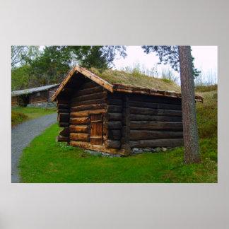 norwegischer fjord poster designs. Black Bedroom Furniture Sets. Home Design Ideas