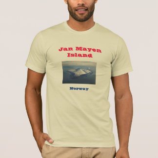 Norwegen: Insel Jan.s Mayen T-Shirt
