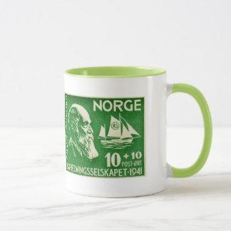 Norwegen-Norweger Colin Bogenschütze Tasse