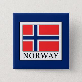 Norwegen Quadratischer Button 5,1 Cm