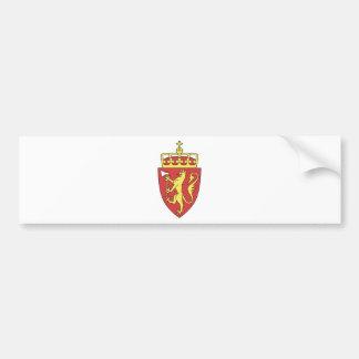 Norwegen-Wappen Autoaufkleber