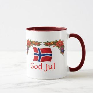 Norwegen-Weihnachten Tasse