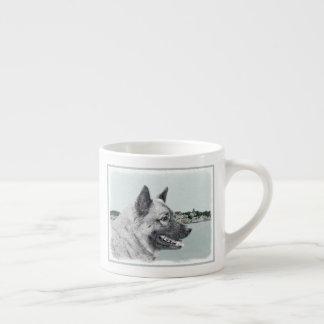 Norweger Elkhound Espressotasse