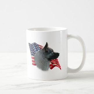 Norweger Elkhound Flagge Kaffeetasse