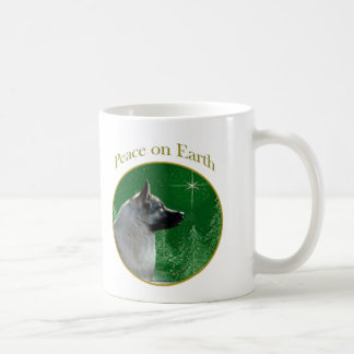 Norweger Elkhound Frieden Kaffeetasse