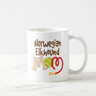 Norweger Elkhound Hundezucht-Mamma-Geschenk Kaffeetasse