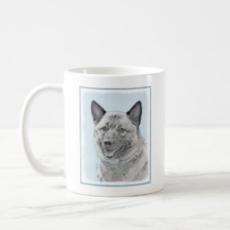 Norweger Elkhound Kaffeetasse