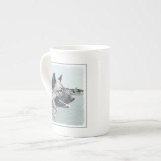 Norweger Elkhound Porzellantasse