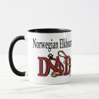 Norweger Elkhound Vati-Geschenke Tasse