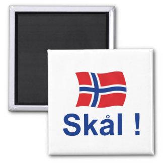 Norweger Skal! (Beifall) Quadratischer Magnet